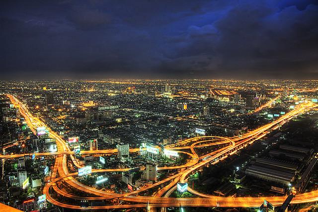 Baiyoke Bangkok view