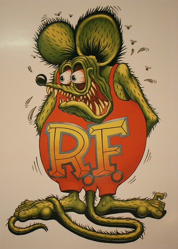 Rat Fink, At the Harrah's Auto Collection in Reno, NV.