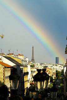 L'arc en ciel à Paris