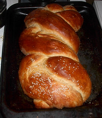 Challah is done