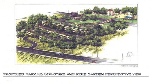 Underground Parking Structure & Rose Garden for Balboa Park