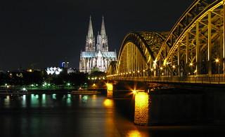 Kölner Dom at Night