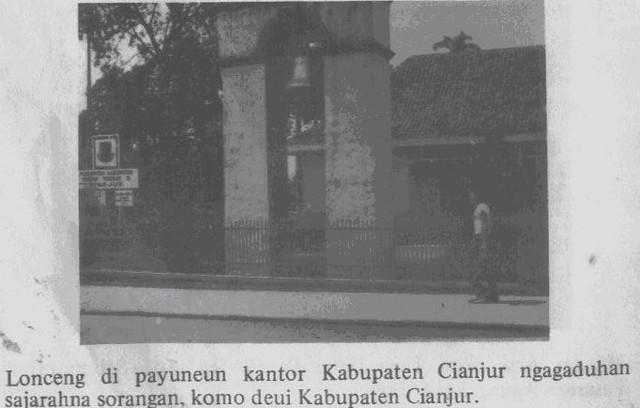 Lonceng Kantor Kabupaten Cianjur