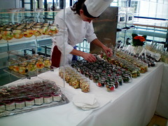 culinary art, buffet, pastry chef, food,
