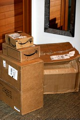 third UPS delivery in two days   after being snowed …