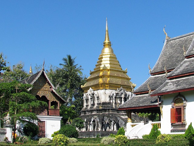 Thailand, Chiang Mai - Wat Chiang Man  Flickr - Photo Sharing!