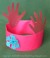 Craft day reindeer antler headband for Reindeer antlers headband craft