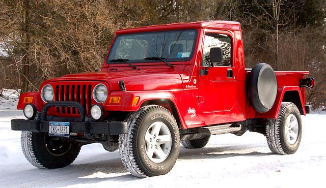 Jeff 39 s jeep retro wrangler tj pickup conversion for Cj custom homes