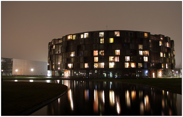 Tietgenkollegiet by night