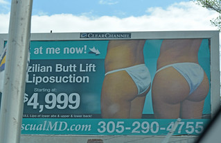 Miami billboard-Brazilian Butt Lift