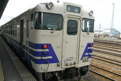 Gonou line local train / 五能線普通列車