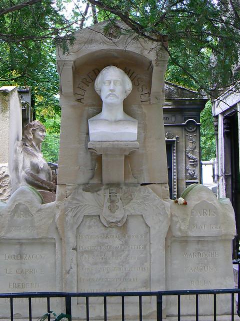 Header of Alfred De Musset