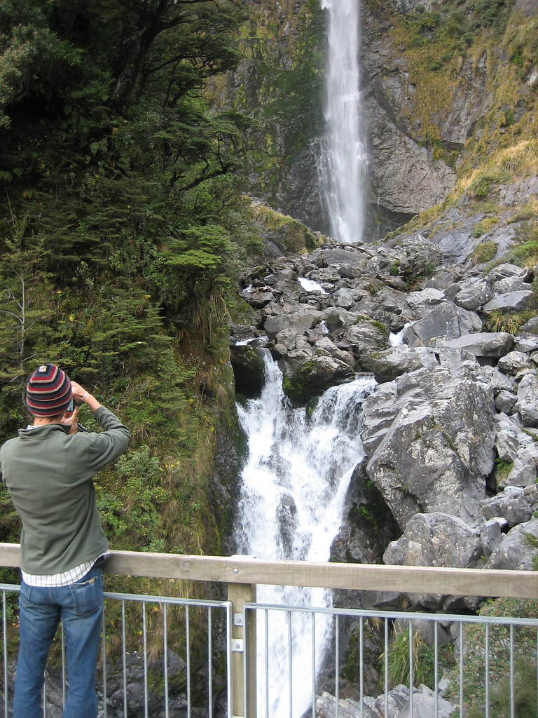 Arthur's Pass Waterfall