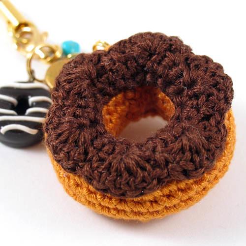 Mini Donuts Amigurumi : Amigurumi Donuts Charm / Keychain Flickr - Photo Sharing!