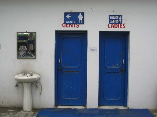 Gents' Relocated  Toilets on the highway from Chandigarh to Kalka By Artiii