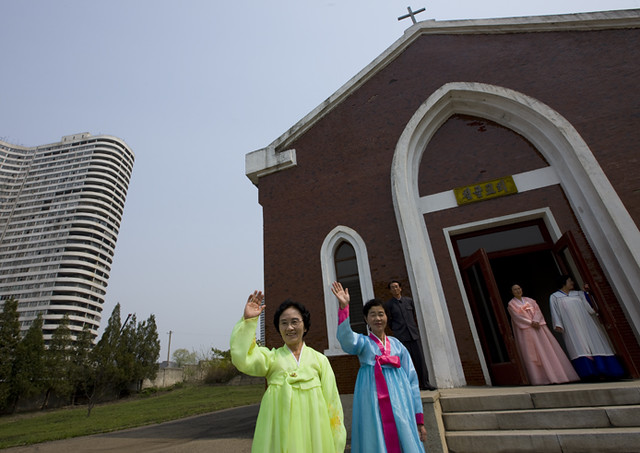 Chilgol Church in Pyongyang - North Korea