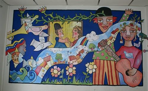 Murales mural sala de usos m ltiples casa de la cultura for Cultura para periodico mural