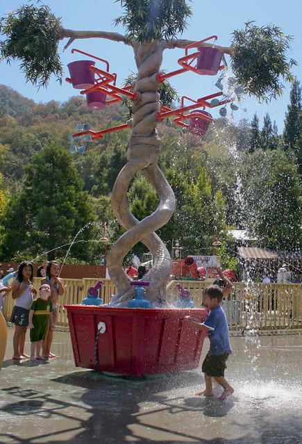 Gilroy Gardens Water Child Flickr Photo Sharing