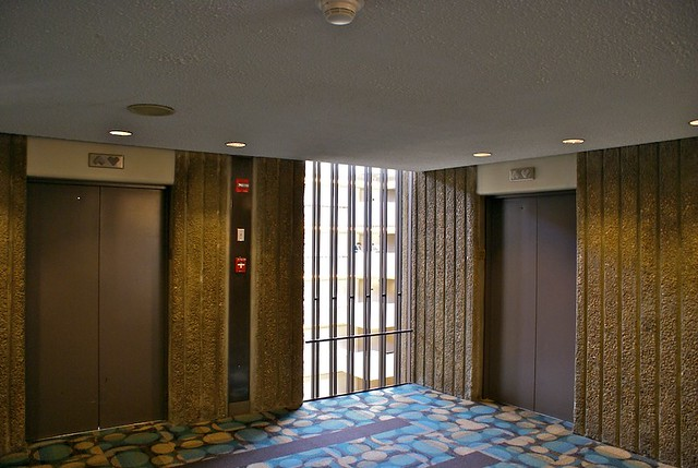 Elevator Landing At Hyatt Regency Atlanta Flickr Photo