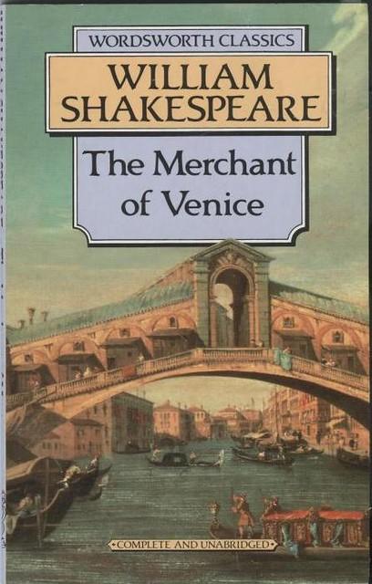 when merchant venice written - photo#14