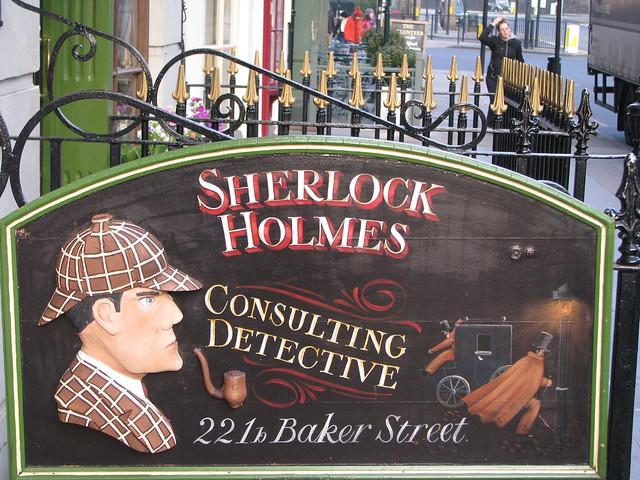 Sherlock Holmes Museum (1) from Flickr via Wylio