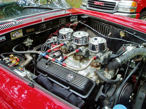 350 chevvy engine and tranny