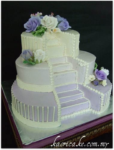 Debut Cake Design With Stairs : My s blog: Beach weddings are hot It seems like most women ...