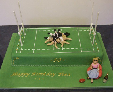 Rugby Mum 50th Birthday Cake A Photo On Flickriver