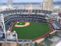 Tilt Shift Petco Field