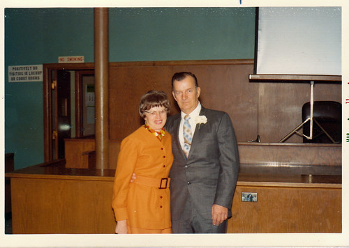 1972 Mom & Dad at Russ and Laura's wedding