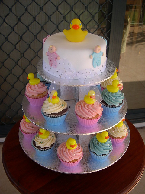 mossy 39 s masterpiece baby shower duck cake flickr photo sharing