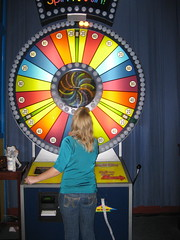 Tam's wheel of fortune.