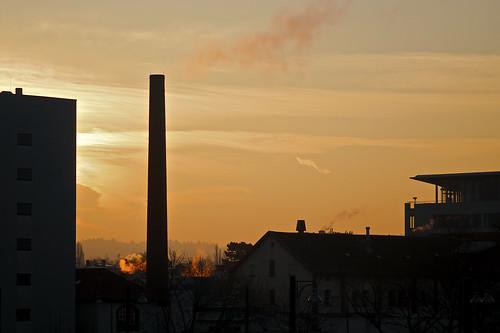 sunrise germany nikon hessen sonnenaufgang darmstadt cinemaxx d90 gebäude