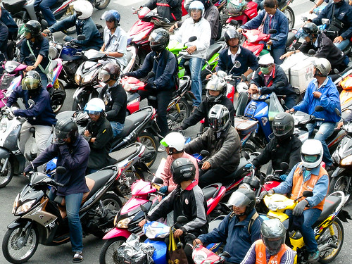Massed Motorcycles