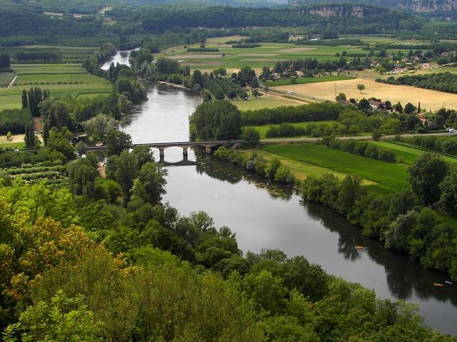 Dordogne river gt france