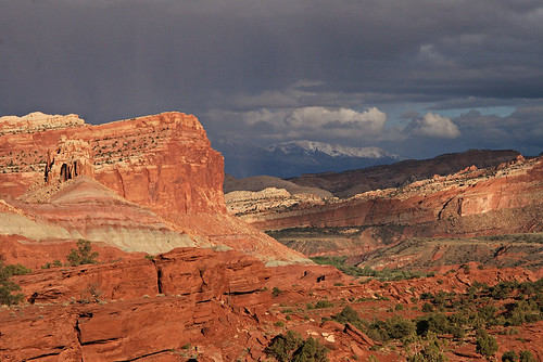 Capitol Reef Stormy Castle, May 2011