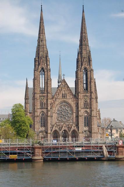 Strasbourg France - Saint Paul Temple Church