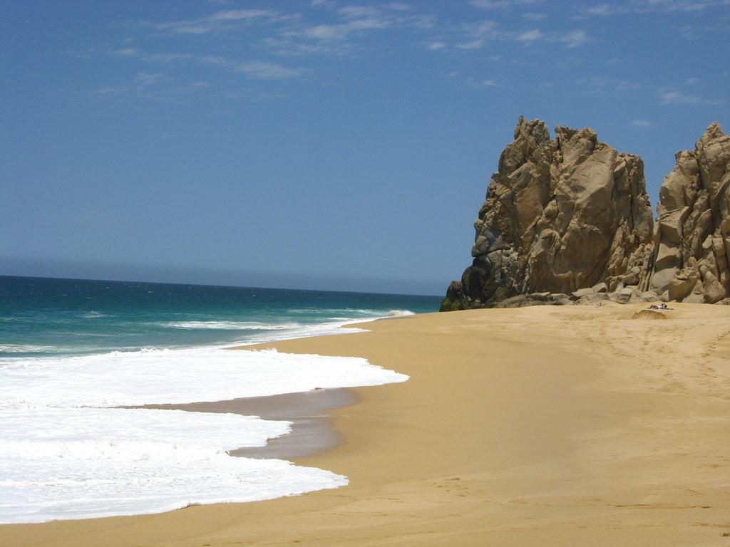 Пляж влюбленных мексика