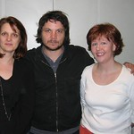 Jeff Tweedy with Claudia and Julianne