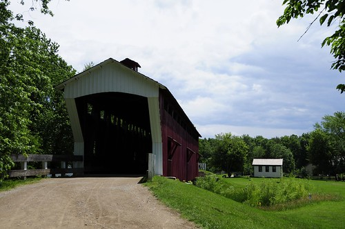 Covered bridge in Conner Prairie