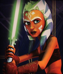 Ahsoka Tano in Star Wars Clone Wars