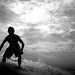 Surfer Silhouette by SmithShady
