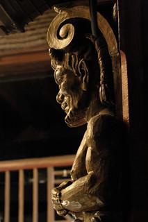 Elizabethan Theatre Carving
