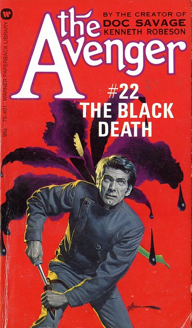 The Avenger 022 - The Black Death (Kenneth Robeson)
