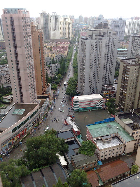 Flood in Shanghai
