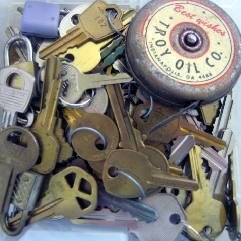 An assortment of keys