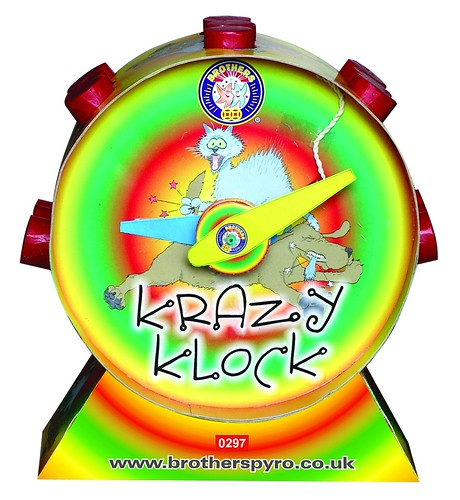 KRAZY KLOCK by Brothers Pyrotechnics