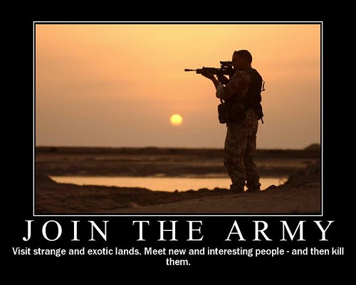Motivational Poster – Be a part of the Military
