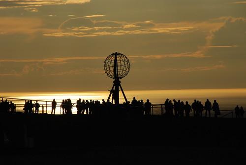 sunset norway 夕陽 scandinavia 日落 落日 夕照 nordkapp 挪威 黃昏 北歐 挪威北角