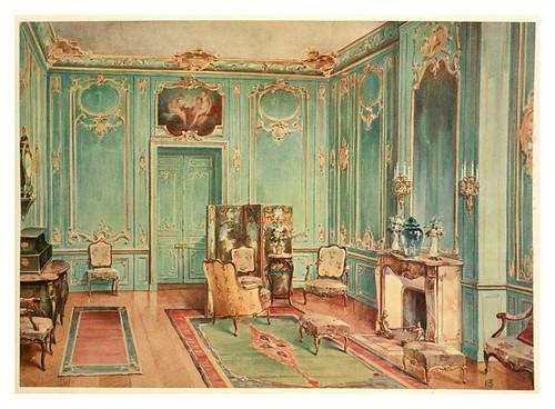 Odisea2008 decoraci n de interiores estilo siglos xvii y for Decoracion de interiores luis xv
